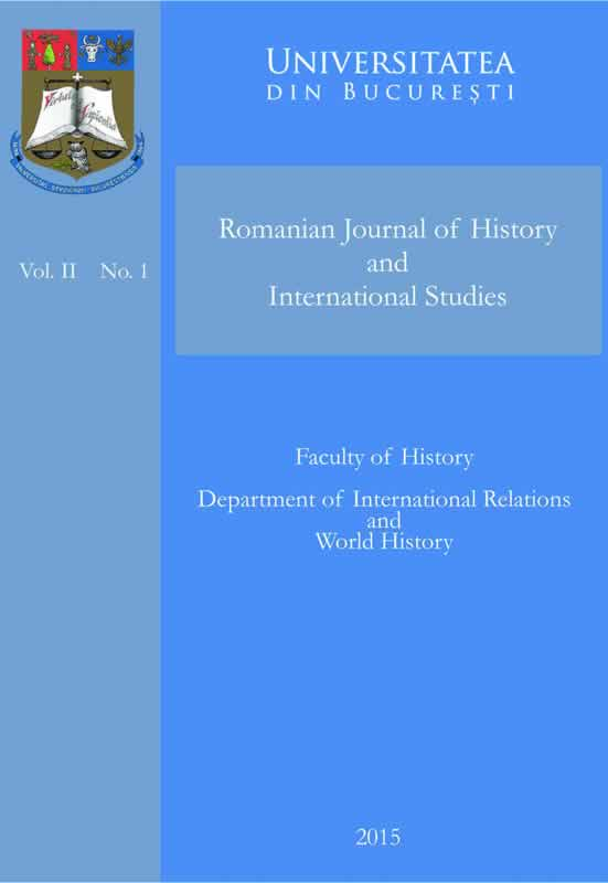 Romanian Journal of History and International Studies Vol. 2 No. 1