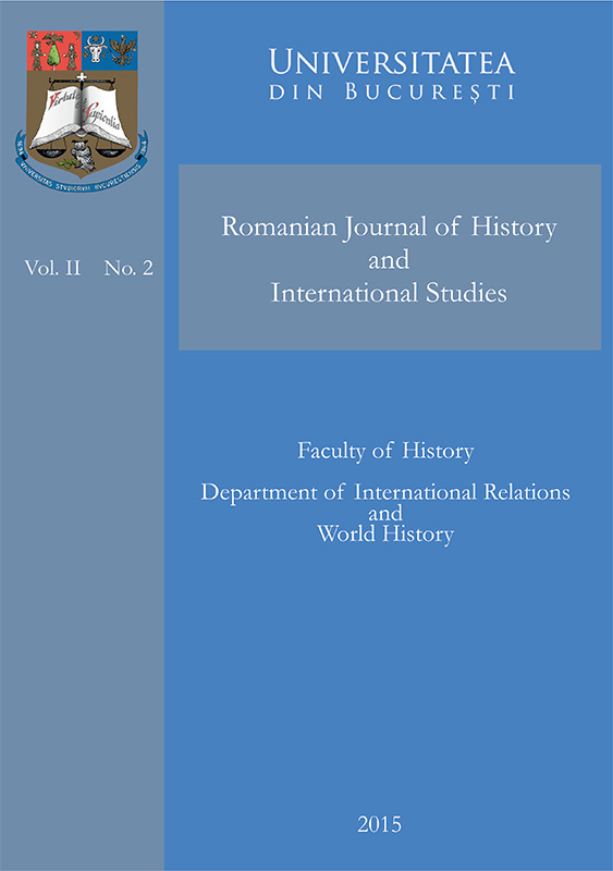Romanian Journal of History and International Studies Vol. 2 No. 2