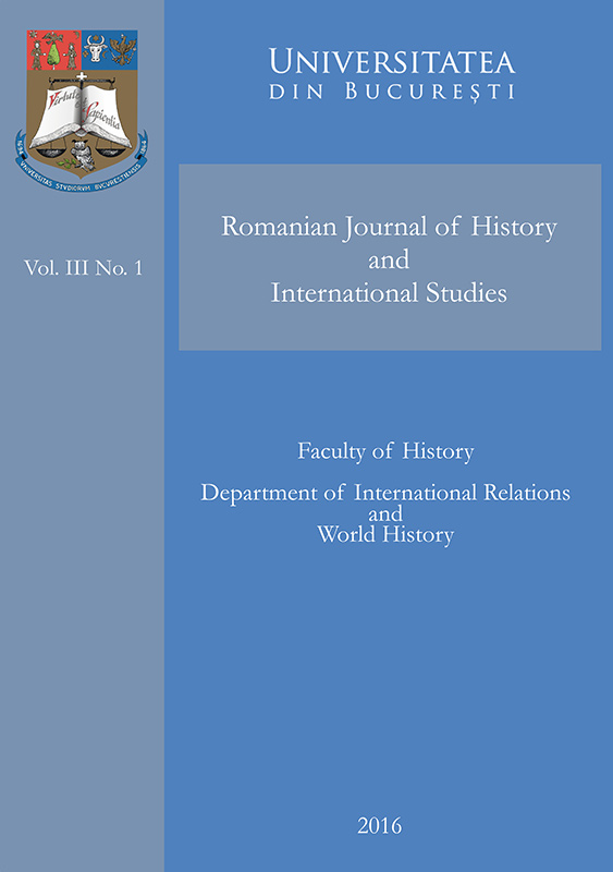 Romanian Journal of History and International Studies Vol. 3 No. 1